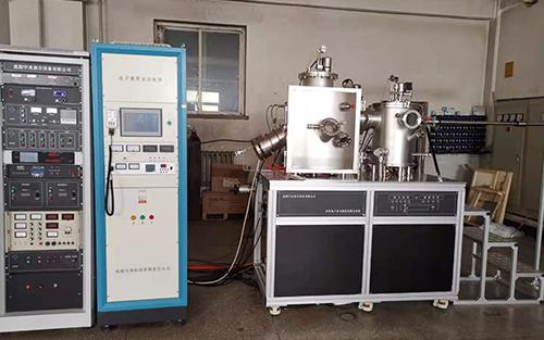 离子清洗与电阻蒸发联合系统